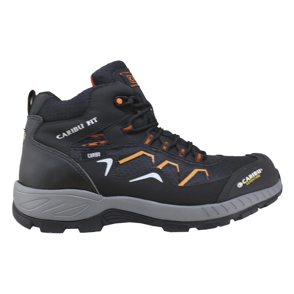 Adventure Men 324 Negro-Naranja